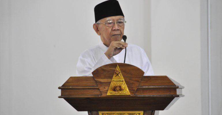 Gus Sholah Sambutan