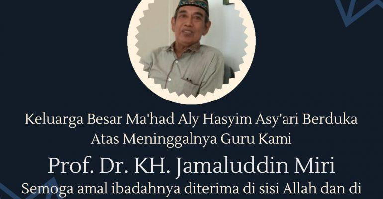 Prof. Dr. Jamaluddin Miri